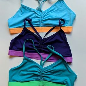 Sports Bralette Trio - Sz XL NWOT
